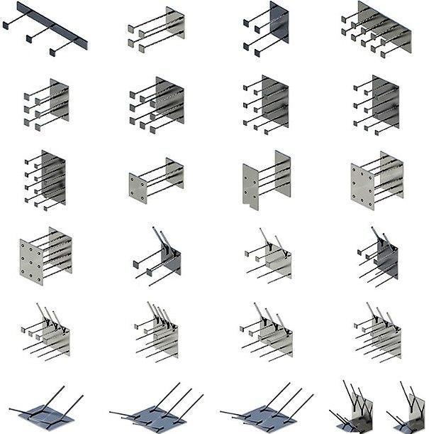 Закладные детали для конструкций