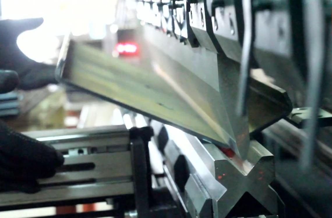 гибка листа из металла
